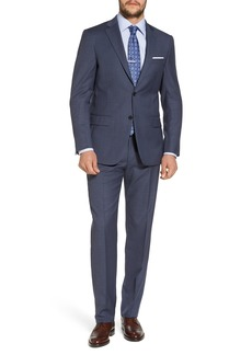 Hart Schaffner Marx New York Classic Fit Solid Wool Suit