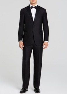 Hart Schaffner Marx Platinum Label Basic Black Classic Fit Tuxedo - 100% Exclusive