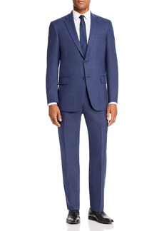 Hart Schaffner Marx Textured Solid Classic Fit Suit
