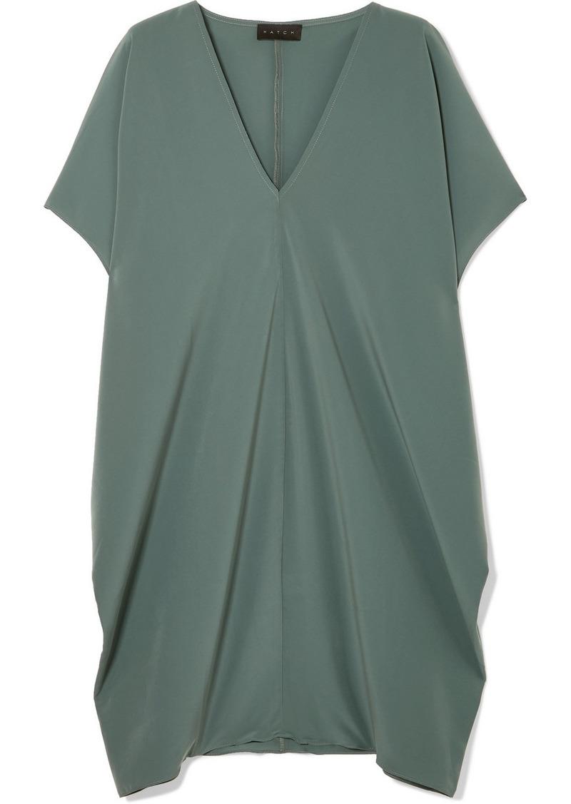 5747e70543 Hatch The Slouch Crepe De Chine Mini Dress | Dresses