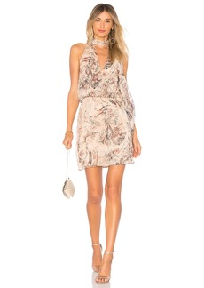 Haute Hippie Ginny Halter Mini Dress