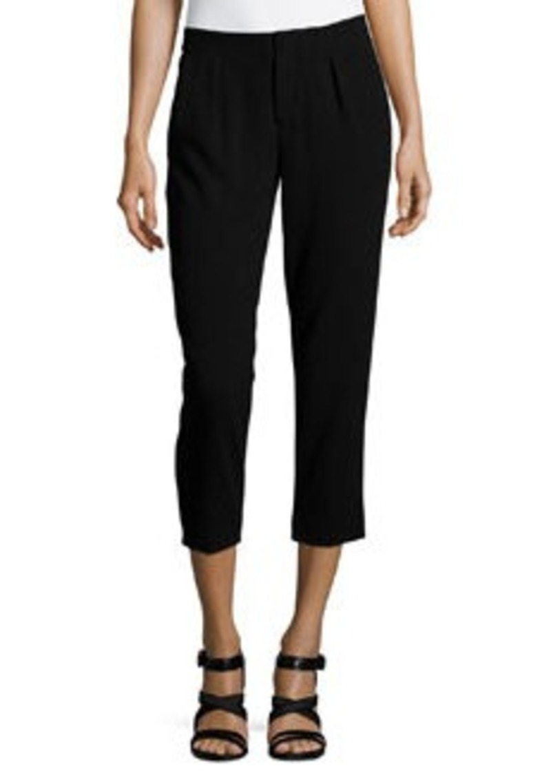 Haute Hippie Pleated Capri Pants