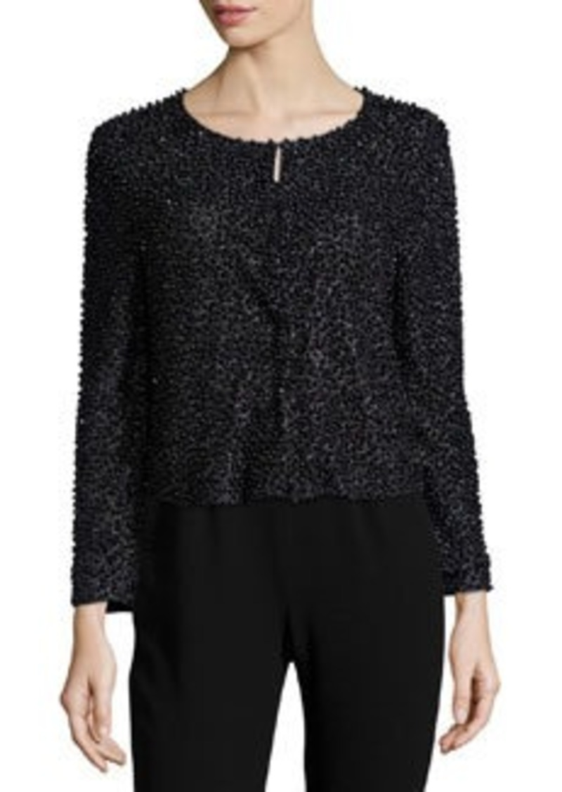 Haute Hippie Beaded 3/4-Sleeve Cardigan
