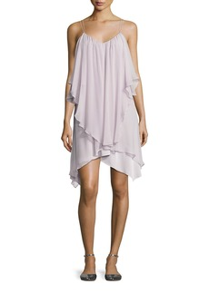 Haute Hippie All This & Heaven Too Silk Layered Dress