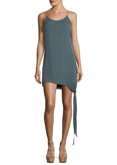Haute Hippie California Paradise Tie-Hem Shift Dress