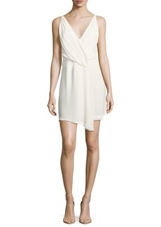 Haute Hippie Cassidy Sleeveless Silk Mini Dress