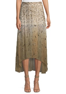 Haute Hippie Criminal Love Slayer Embellished Skirt