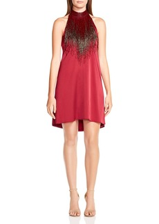 Haute Hippie Georgica Embellished Silk Dress