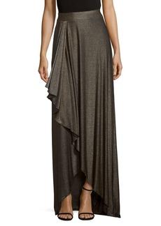 Haute Hippie Haute Hi-Lo Floor-length Skirt