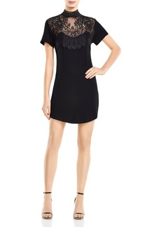 Haute Hippie Lace-Detail T-Shirt Dress