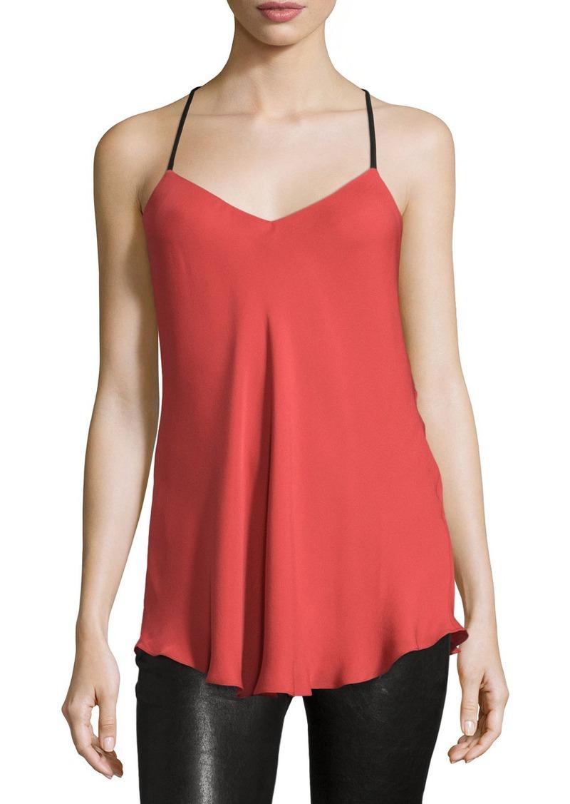 62d6b91a120ac Red Silk Camisole