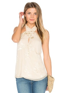 Haute Hippie Narcissus Blouse in White. - size S (also in XS,L)