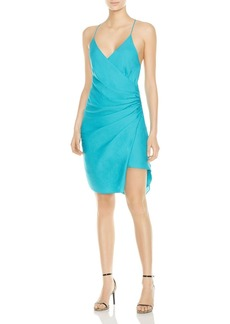 Haute Hippie Poolside Faux-Wrap Dress