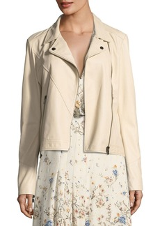 Haute Hippie Shifting Sands Lace-Up Moto Jacket