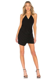 Haute Hippie Sidewinder Cowl Mini Dress