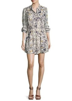 Haute Hippie The Double Down Snap-Button Layering Dress