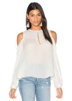 Haute Hippie The Fiona Cold Shoulder Blouse
