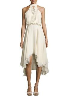 Haute Hippie The Free Spirit Lace-Up Silk Dress
