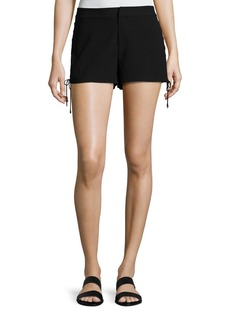 Haute Hippie The Getaway Lace-Up Side Shorts
