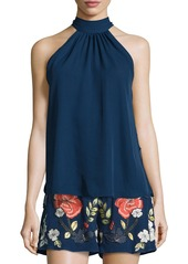 Haute Hippie The Morrison Silk Tie-Back Tank