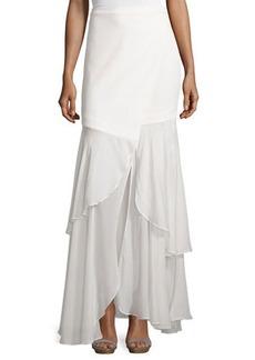 Haute Hippie Tiered Maxi Skirt