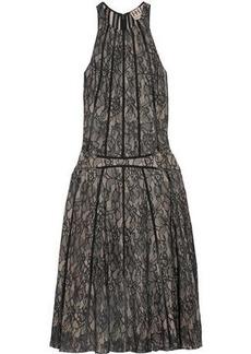 Haute Hippie Woman Corded Lace Dress Black
