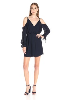 Haute Hippie Women's Cold Shoulder Mini Dress  XS