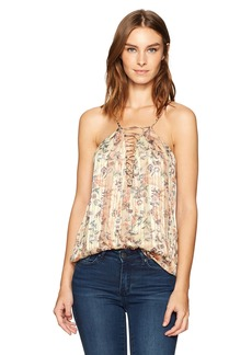 Haute Hippie Women's Cross My Heart Cami  M