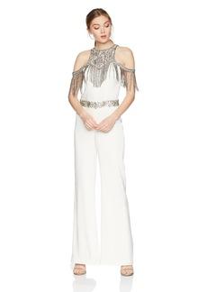 Haute Hippie Women's Devere Embellished Jumpsuit swan