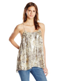 Haute Hippie Women's Easy Cami with Side Bar Detail  L