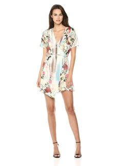 Haute Hippie Women's French Riviera WRAP Dress striptropez