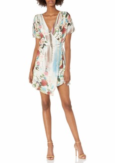 Haute Hippie Women's French Riviera WRAP Dress striptropez