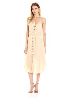 Haute Hippie Women's Front Lace up Dress  S