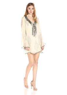 Haute Hippie Women's Getty Mini Dress  S