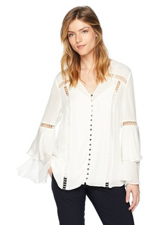 Haute Hippie Women's Golden Hour Blouse swan