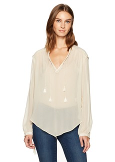 Haute Hippie Women's Goldie Blouse  XS