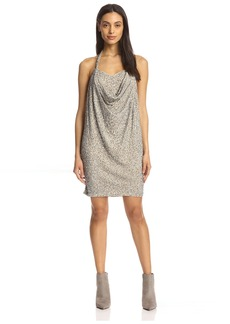 Haute Hippie Women's Halter Mini Dress  S
