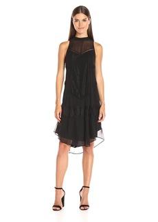 Haute Hippie Women's High Neck Romance Dress  M