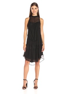 Haute Hippie Women's High Neck Romance Dress  S
