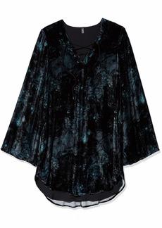 Haute Hippie Women's Lace Up Tunic Dress