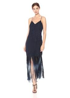 Haute Hippie Women's Making Time Fringe Dress