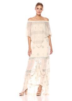 Haute Hippie Women's Mary Maxi Dress  M