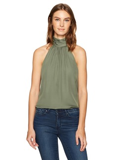Haute Hippie Women's Side Tie Morrison Blouse  XS