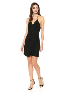 Haute Hippie Women's Sidewinder Cowl Mini Dress