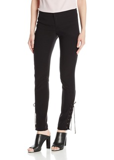 Haute Hippie Women's Skinny Suit Pant with New Lacing