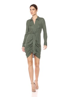 Haute Hippie Women's Snake in The Grass Buttondown Dress