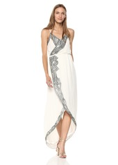 Haute Hippie Women's Soleil Embellished WRAP Dress swan