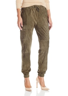 Haute Hippie Women's Suede Cargo Pant  L