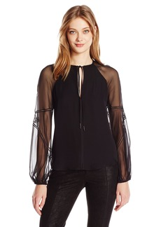 Haute Hippie Women's the Casino Royal Blouse  L