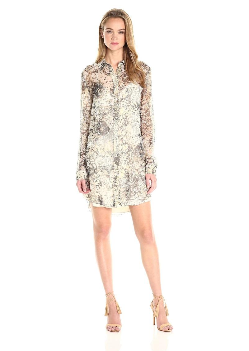 Haute Hippie Women's The Jungle Shirt Dress Camo XS